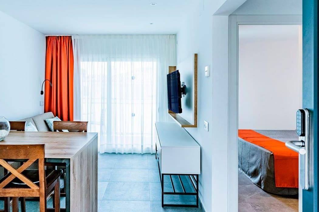 Apartamentos Apollo Sitges bicicletas interior