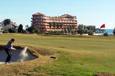 Campo de golf en Sitges