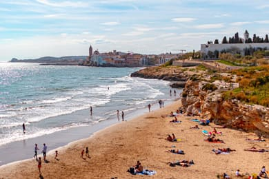 Las playas de Sitges
