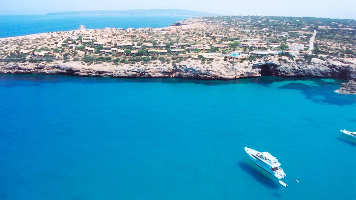 Hotel en playa Formentera