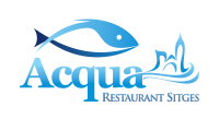 Restaurante Acqua frente la mar de Sitges
